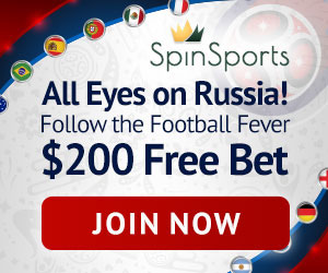 Spin Palace Sports NZ World Cup promo