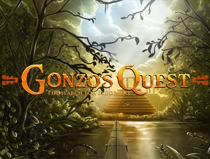 gonzos quest game cover art