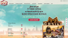 777 Casino with eCOGRA certification