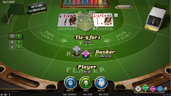 Online Baccarat by NetEnt