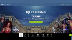 Euro Palace Welcome Bonus 2020