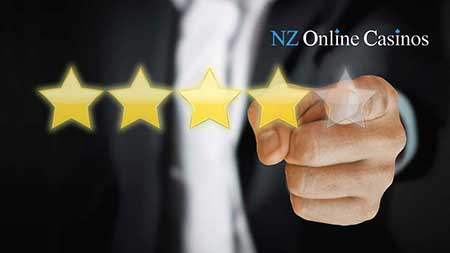 NZ Online Casinos Reviews 5 star