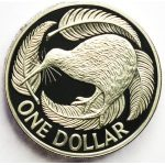 one nz dollar coin