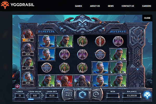 vikings go to hell slot game by Yggdrasil